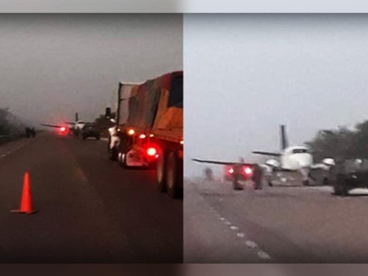 Avioneta con droga aterriza en Quintana Roo y se enfrenta con Sedena