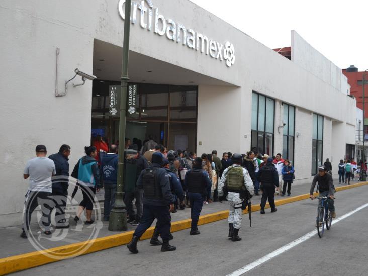 Policía de Orizaba puede dar 'apoyar especial' a cuentahabientes