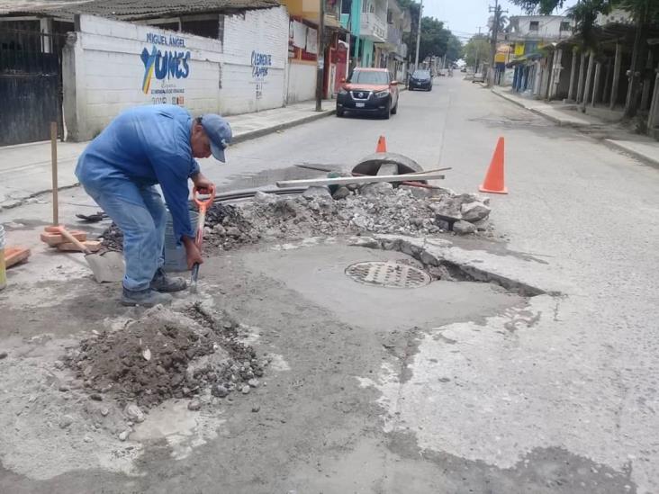 Atiende fugas CAEV Tuxpan; tandeos agravan situación