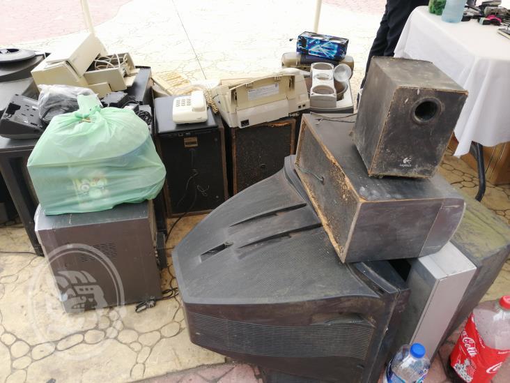 Inicia colecta de desechos electrónicos en Tuxpan