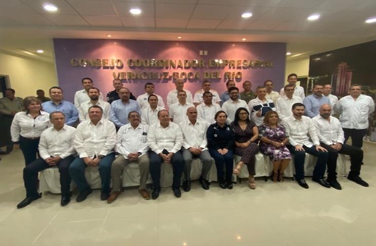 Se reúne IP de Veracruz con Gabinete de Seguridad