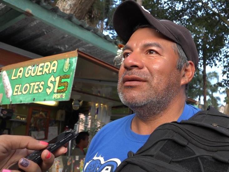 Aprueban locatarios del parque Juárez remoción de Jacaranda