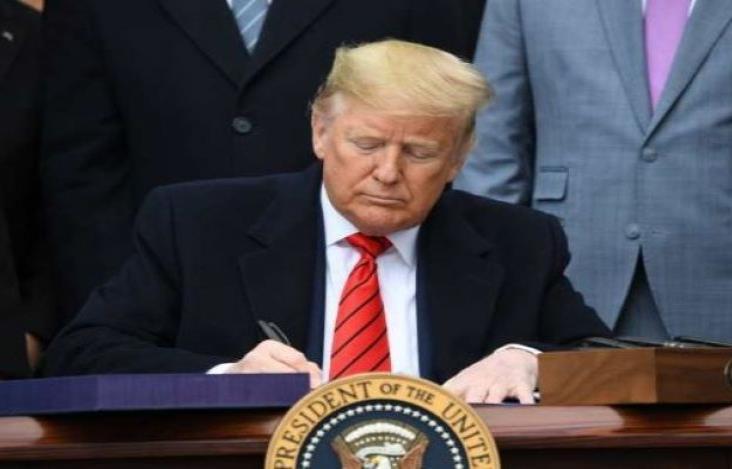 Firma Trump el T-MEC en la Casa Blanca; solo falta Canadá