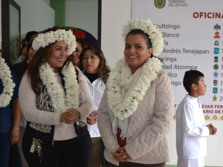 Inauguran oficinas de enlace del DIF Ixtaczoquitlán