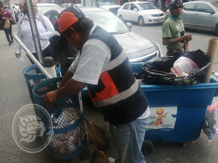 A diario, recolectan 90 toneladas de basura en Tuxpan