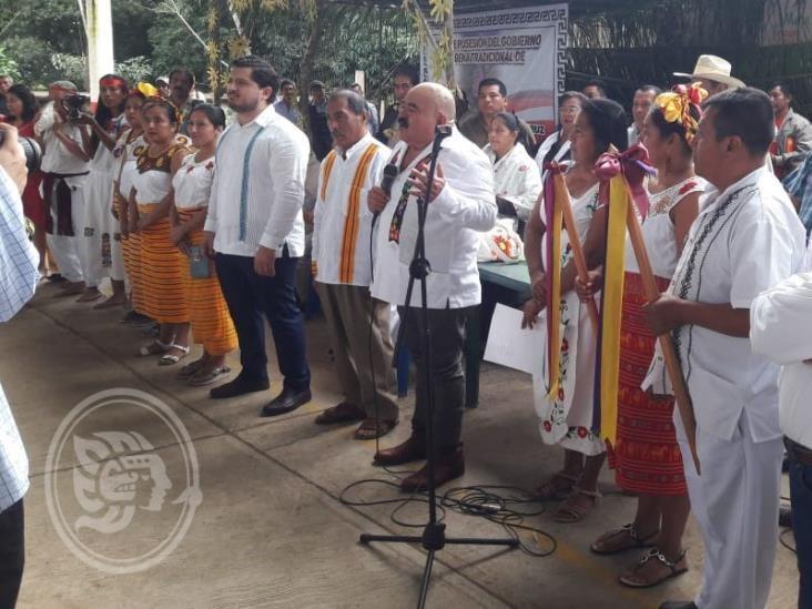 Instalan primer gobierno indígena en sur de Veracruz