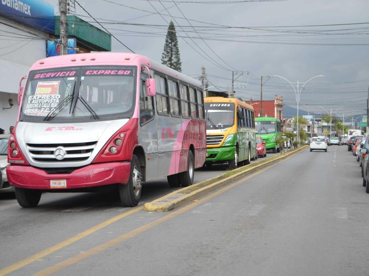 Descuentos en transporte público son obligatorios en Veracruz
