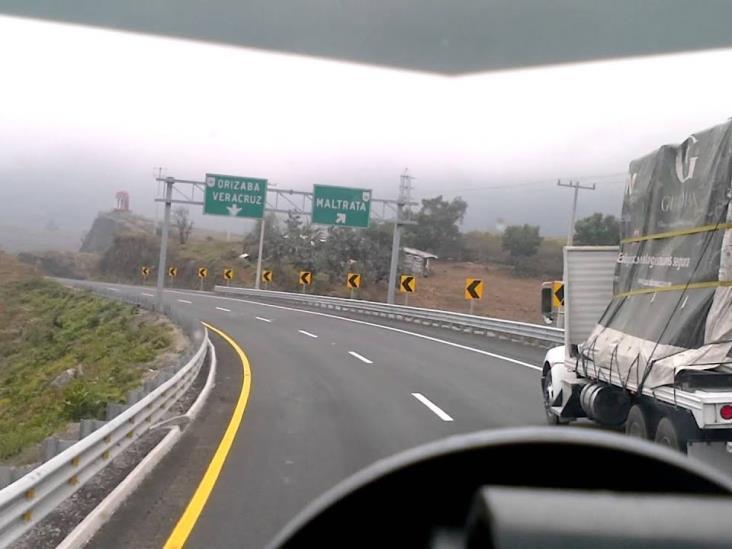 Alertan conductores inseguridad en carretera La Esperanza