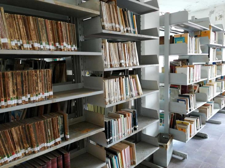 Donación de libros, necesaria para bibliotecas de Tuxpan