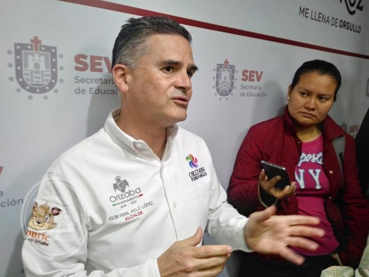 Violencia contra menores ocurre sólo en lugares cercanos a Orizaba: alcalde