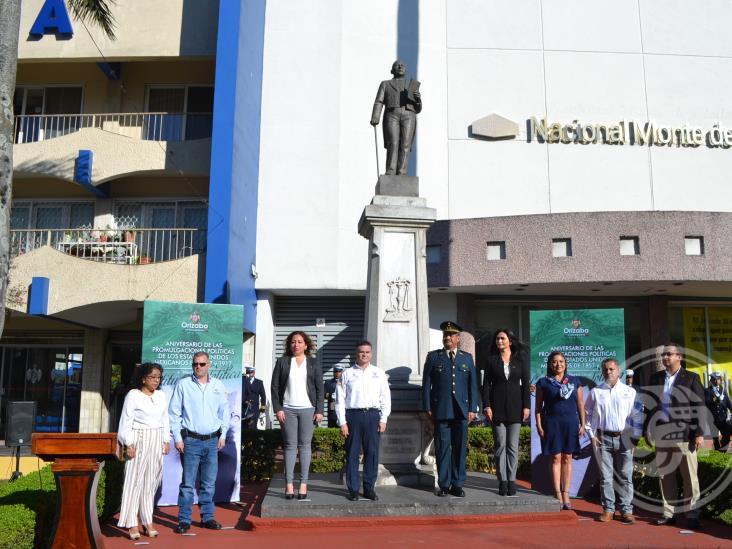 Conmemoran en Orizaba promulgación de la Constitución de 1857 y 1917