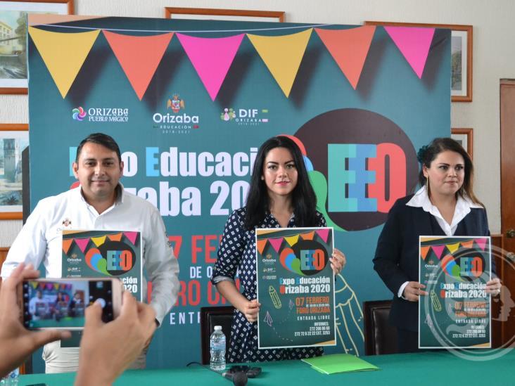 Este 7 de febrero realizarán la Expo Educación en Orizaba
