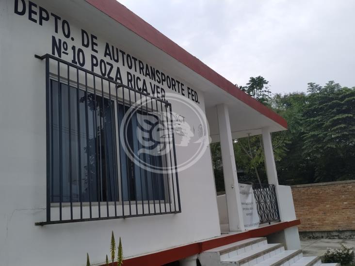 Reabren módulo de la SCT en Poza Rica