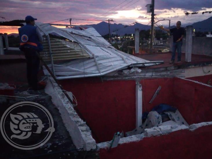 Árboles caídos, casas y postes dañados por surada en Córdoba