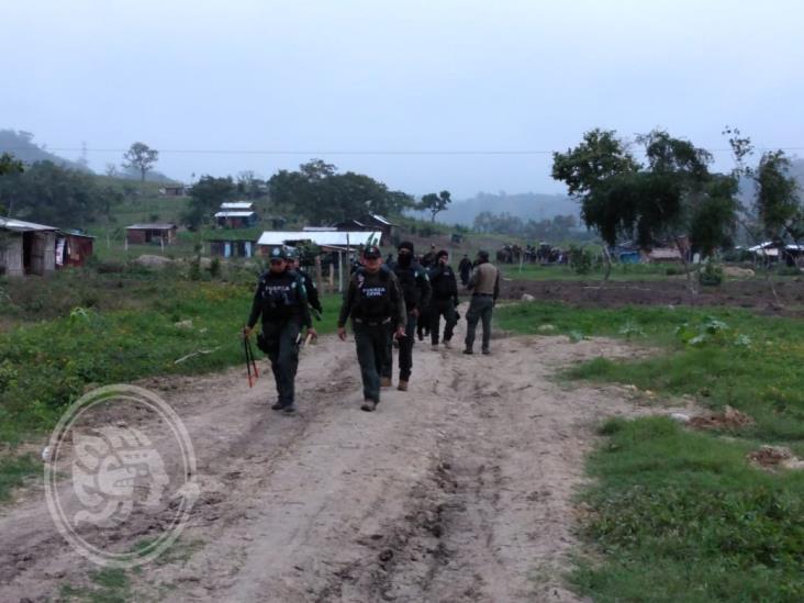 Desalojan a familias de predio cercano a El Tajín