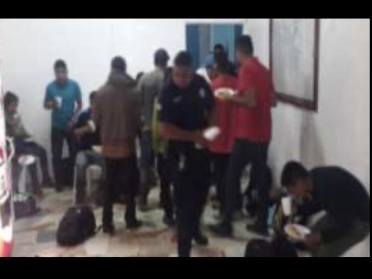 Asegura SSP a 19 migrantes en Jáltipan; un detenido