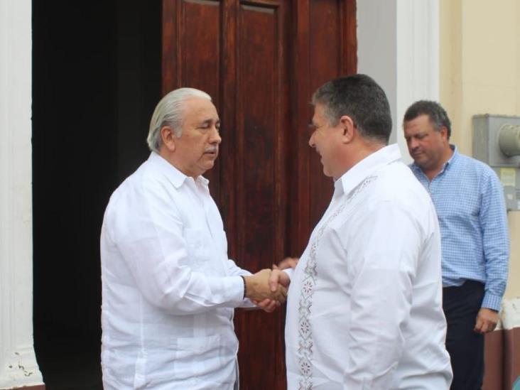 Unir esfuerzos con empresarios para alcanzar un estado de paz: Hugo Gutiérrez