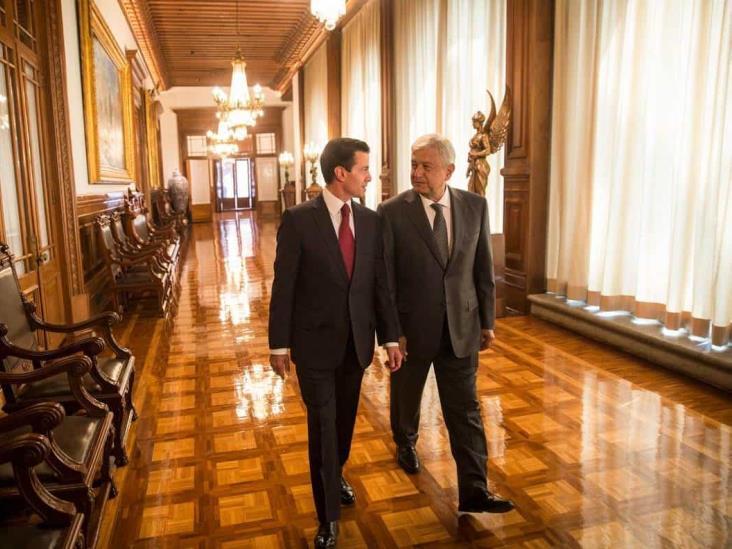 Descarta López Obrador investigación contra Peña Nieto