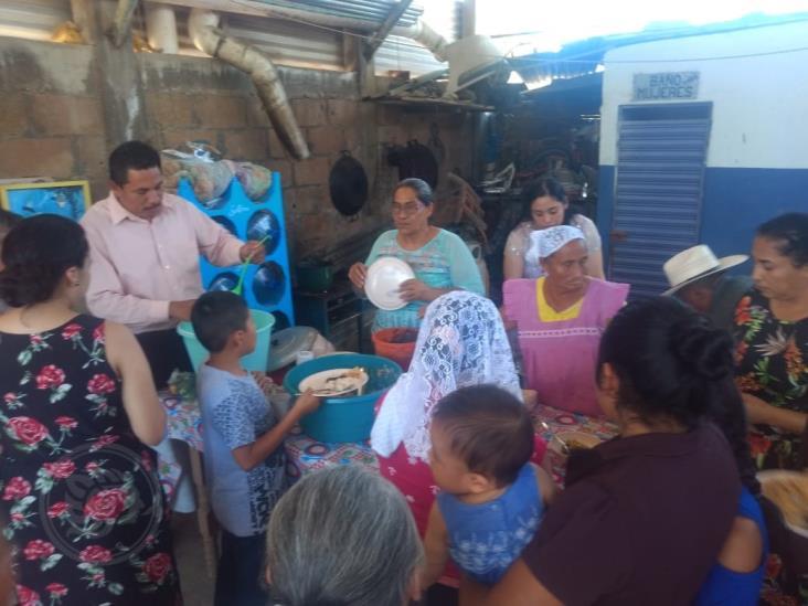 Abren comedores comunitarios para apoyar a familias vulnerables en Moloacán