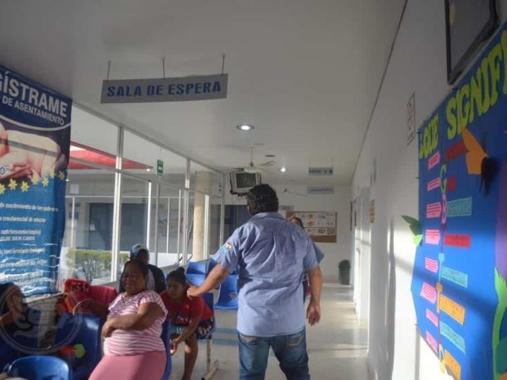 Niegan permiso para unidad sanitizante en el Hospital de Oluta