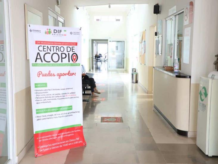 Invitan a donar en centro de acopio para pandemia en Orizaba