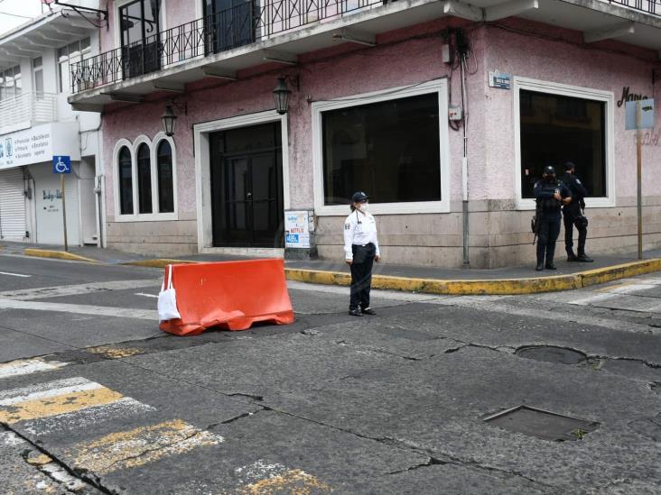 #QuédateEnCasa: cierran de nuevo la zona centro de Xalapa