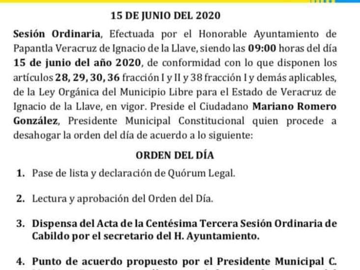 Solicitan destitución de regidor priísta en Papantla