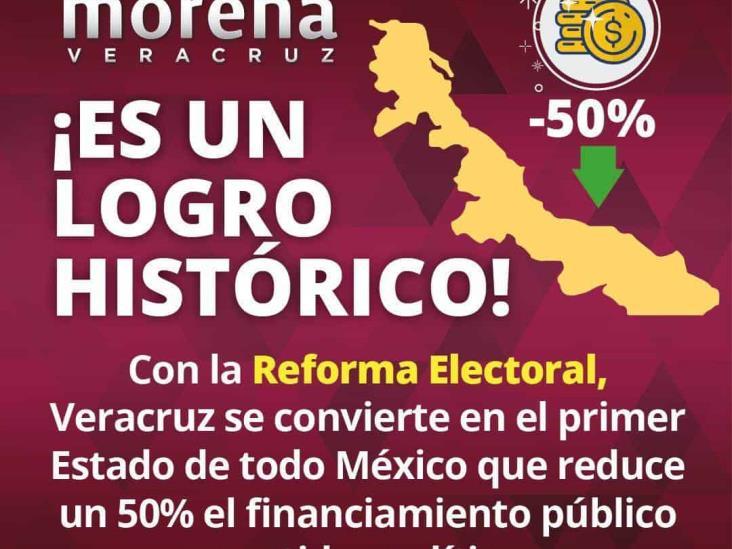 Avalan 127 cabildos la Reforma Electoral; día histórico para Veracruz: Cazarín