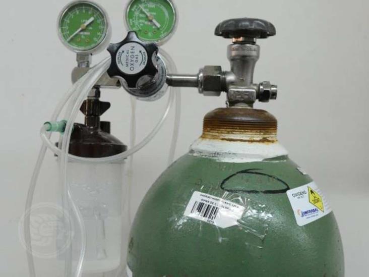 Incrementa compra de oxigeno medicinal en Agua Dulce y Las Choapas