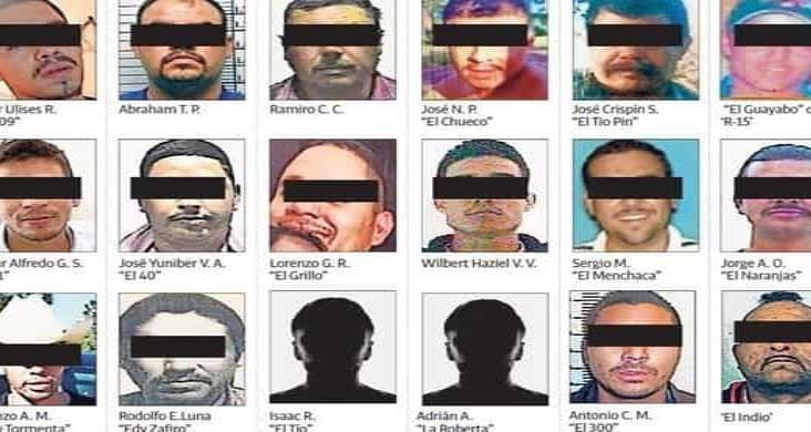 Filtran rostros de los más buscados en Chihuahua
