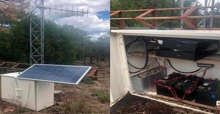 Desmantelan antena de radiocomunicación del narco en Chihuahua