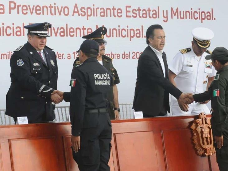 'Mil 200 policías con perspectiva de género y respeto a derechos humanos'
