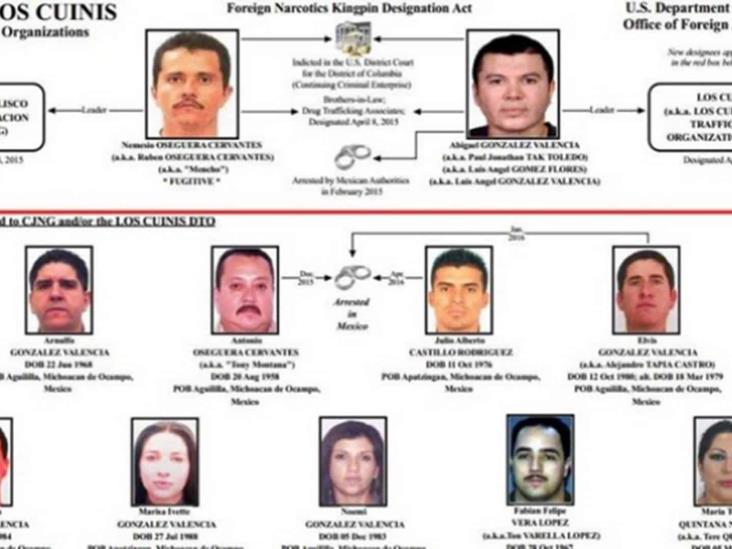 'Los Cuinis', el poder tras El 'Mencho' en el CJNG