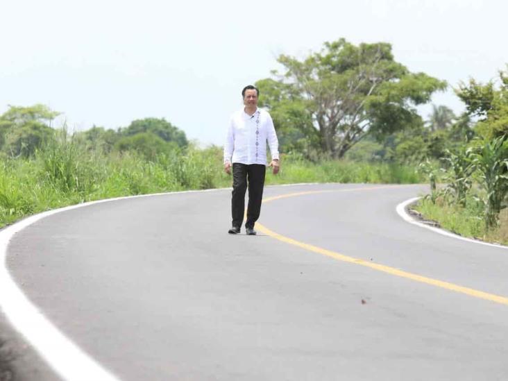 Concluida rehabilitación de la carretera Chacaltianguis-Tuxtilla