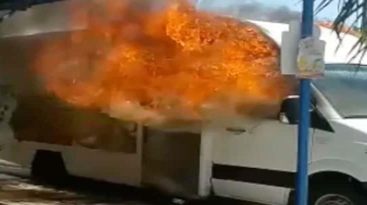 Tamaulipas en llamas: cumple tres días con atentados a camiones y oficinas de Bimbo