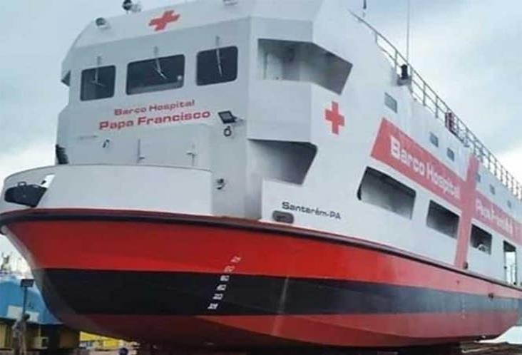 El Papa envía barco hospital a la Amazonia para luchar contra pandemia