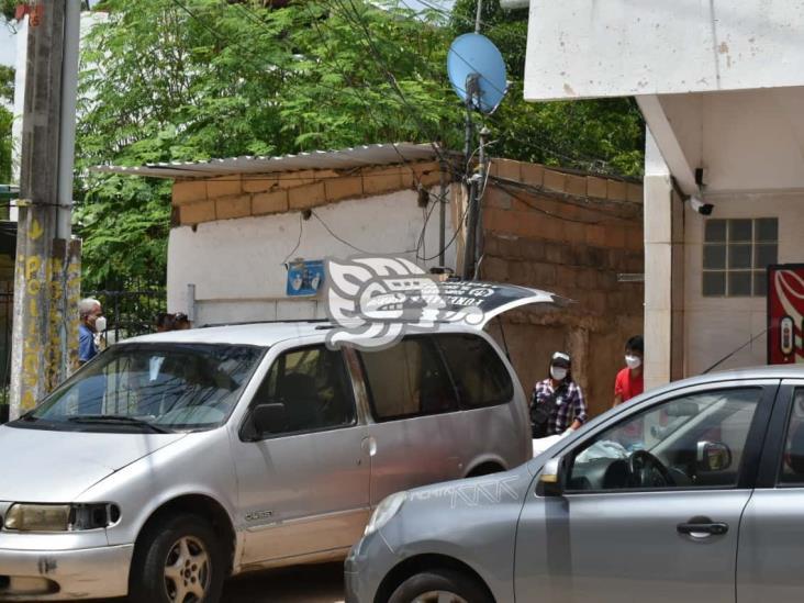 Albañil muere tras accidentarse con una cortadora en Acayucan