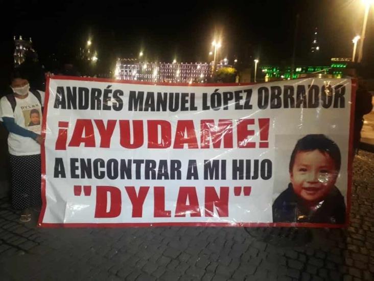 Madre de pequeño desaparecido en Chiapas pide ayuda a AMLO