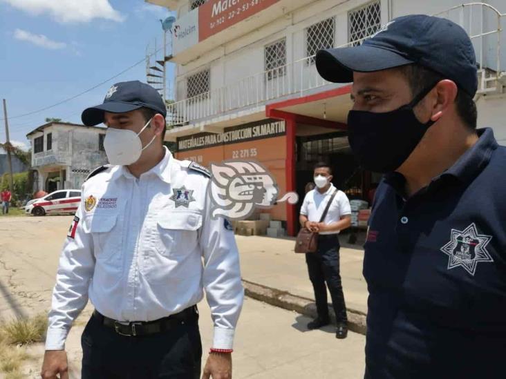 Director de Tránsito dirige operativos en Minatitlán