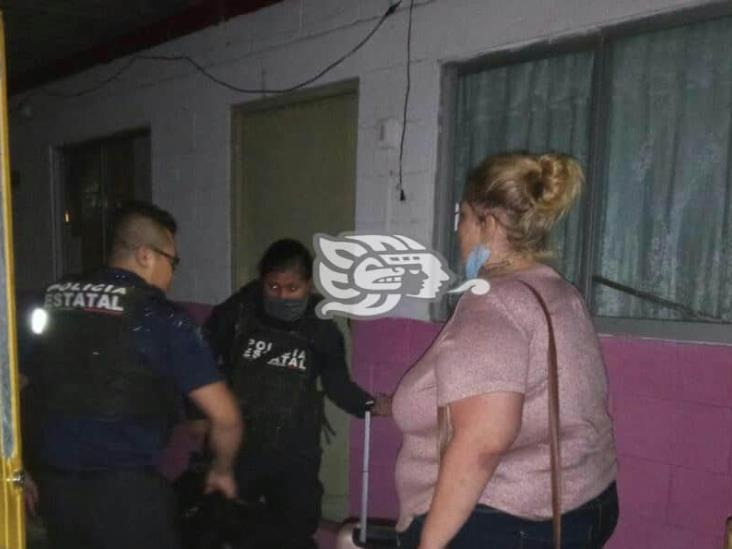 Mujer estadounidense huye de secuestro, en Veracruz