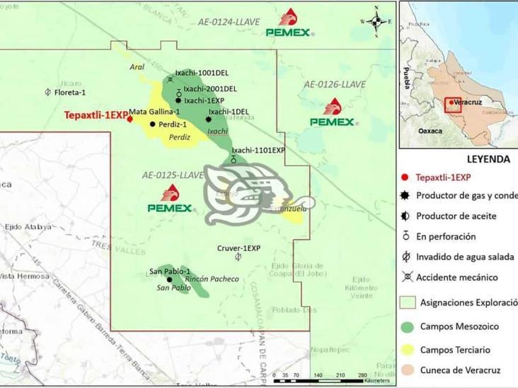 Autorizan a Pemex segunda perforación en Tierra Blanca