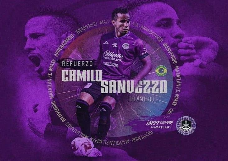 Oficial: Camilo Sanvezzo llegó como refuerzo a Mazatlán FC