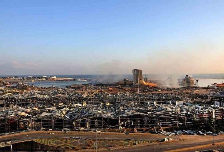 Sube a 220 los muertos por las explosiones en Beirut, Líbano