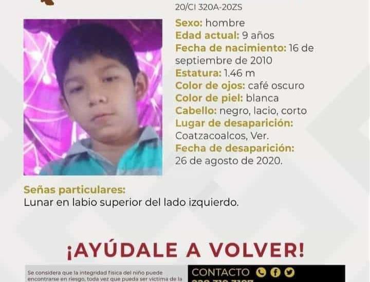 Comisión de Búsqueda alerta desaparición de dos menores en Coatzacoalcos