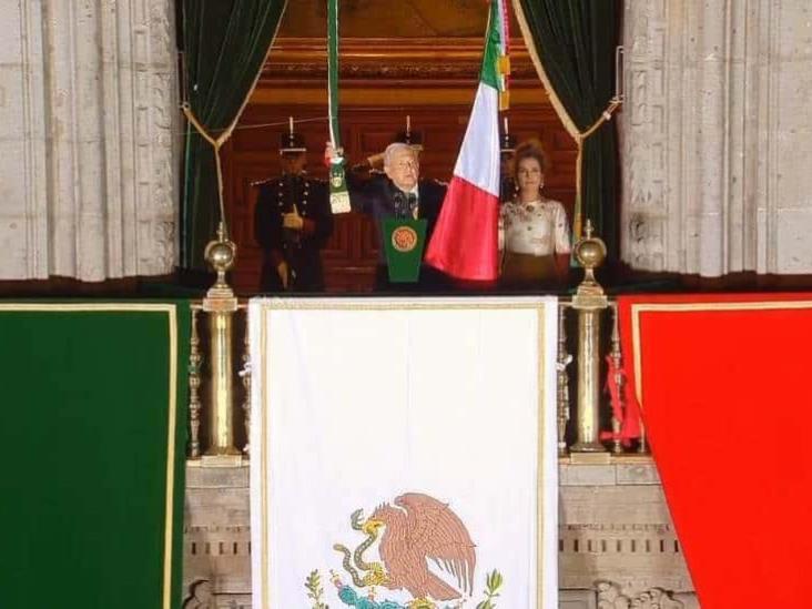 AMLO encabeza ceremonia por el 210 Aniversario del Grito de Independencia