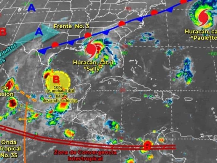Huracán Sally avanza por Golfo de México; se esperan inundaciones históricas