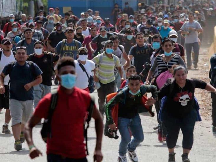 Mucha casualidad que caravana de Honduras se dirija a EU previo a elecciones