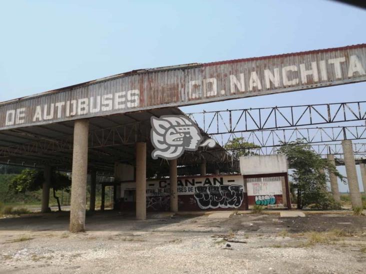 Desvalijan instalaciones de la ex terminal de autobuses de Nanchital
