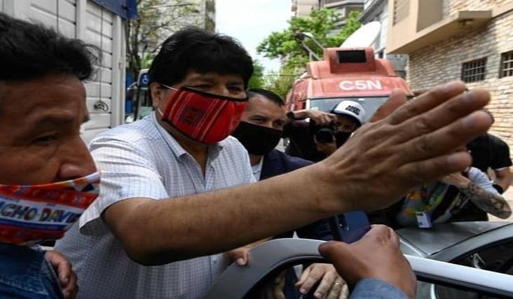 """Evo Morales dice que volverá """"tarde o temprano"""" a Bolivia"""
