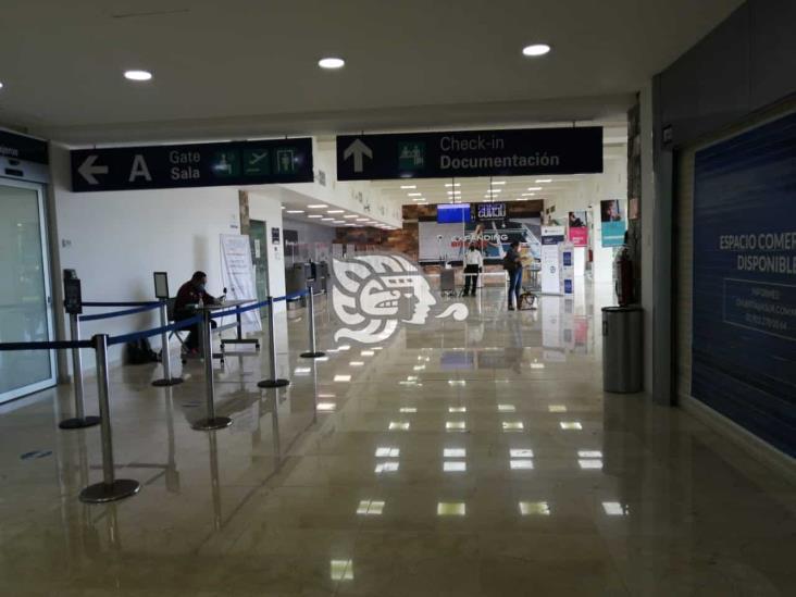 Reprograman obras en el Aeropuerto Internacional de Minatitlán